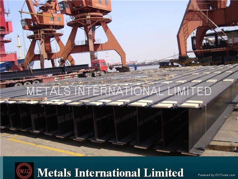DIN 1025-4,JIS G3192 I-Beam, IPBv/BS4,ASTM A6-1988 UBPs,H-PILES 2