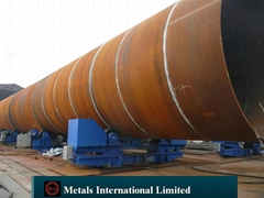 ASTM A252,ASTM A500,AS1163 C350L0,EN10225 Pipe Piling,Foundation Piles,Mooring p