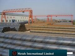 ASTM A252,AWWA C200,EN10217,EN10208,EN 10224,CSA Z245.1,B534 Spiral Welded Pipe