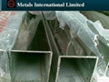 ASTM A554  STAINLESS STEEL SQUARE & RECTANGULAR PIPE