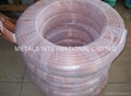 ASTM B280, ASTM B743,EN-12735, JISH-3300 LWC Copper Tube