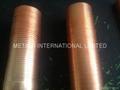 Spiral Fin Copper Tube