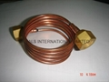 ASTM B111,ASTM B360,ASTM B819,,ASTM B903 Copper Heat Exchanger Tube