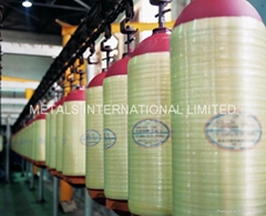 ISO11439 CNG Cylinder For Vehicle(Fiberglass composite Hoop-wrapped)