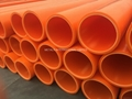 AWWA C-906,ASTM F714,ASTM D2513 HDPE/ UHMWPE Water, Dredging, Sewage Pipe