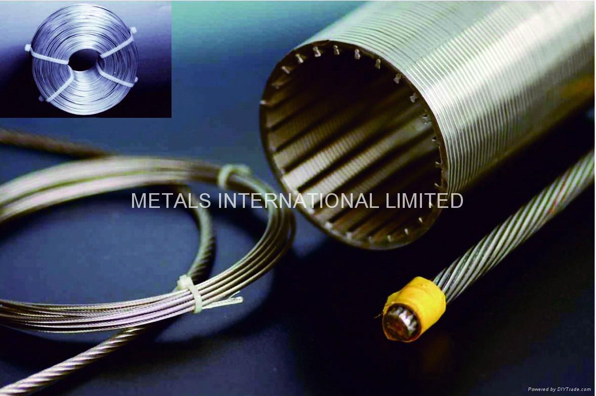 ASTM A478/ASTM A492/ASTM A493ASTM A555/ASTM A581 STAINLESS  WIRE/ELECTRODE 10
