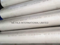 ASTM A268 TP444/TP446, ASTM SB667 904L,N08367 Super Austentic Stainless Tube