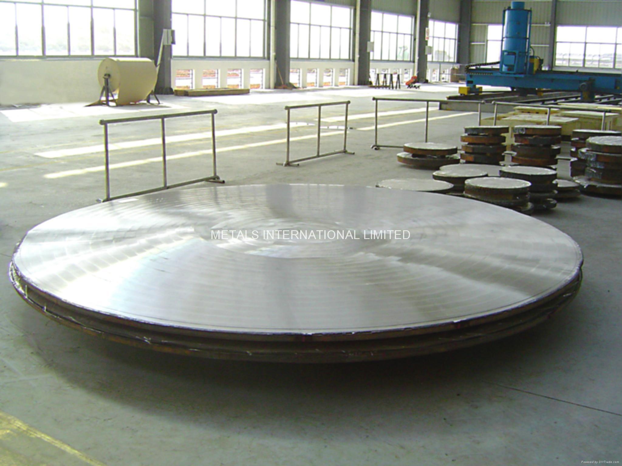 Monel400合金/鋼 管板