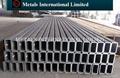 ASTM A500 Gr.A,A500 Gr.B,A500 Gr.C,A500 Gr.D rectangular hollow section, rectangular pipe, rectangular tube