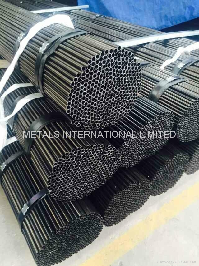 Round Black annealed steel pipe