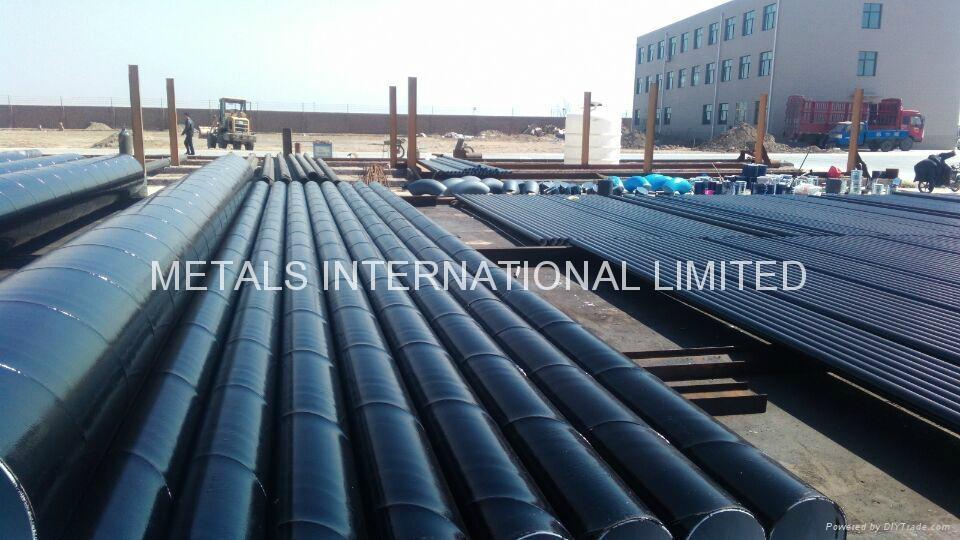 Bitumen Coal Tar Anti-Corrosion Steel Pipe