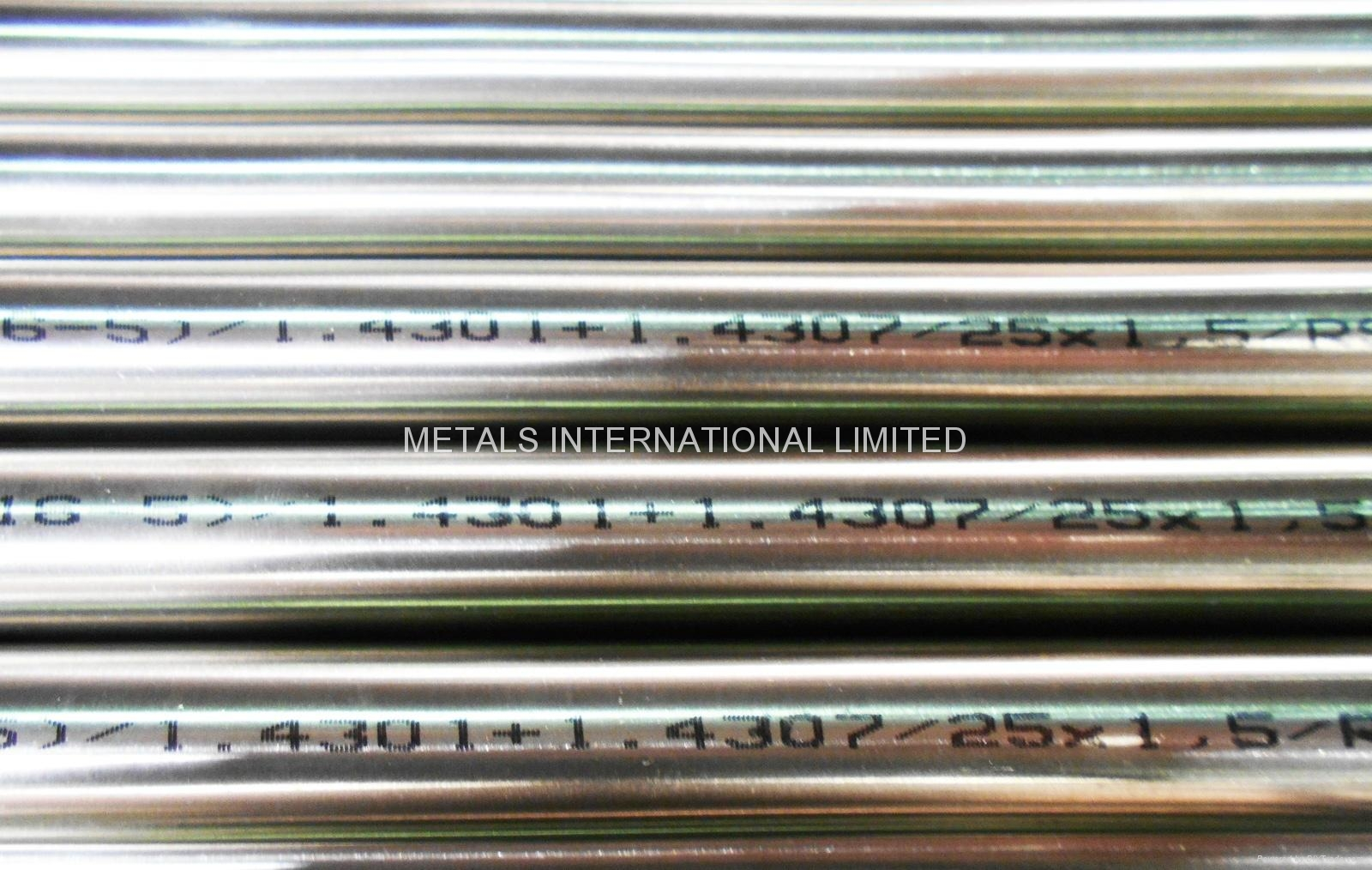 EN10216-5 304/304L+1.4307 Stainless Steel Tube