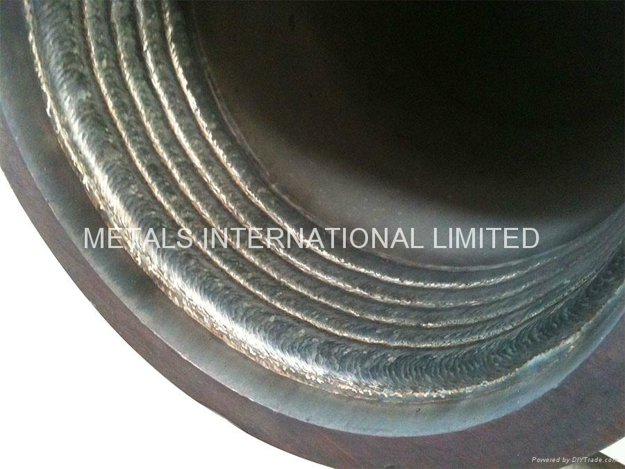 S2205+X65 OVERLAY CLAD PIPE