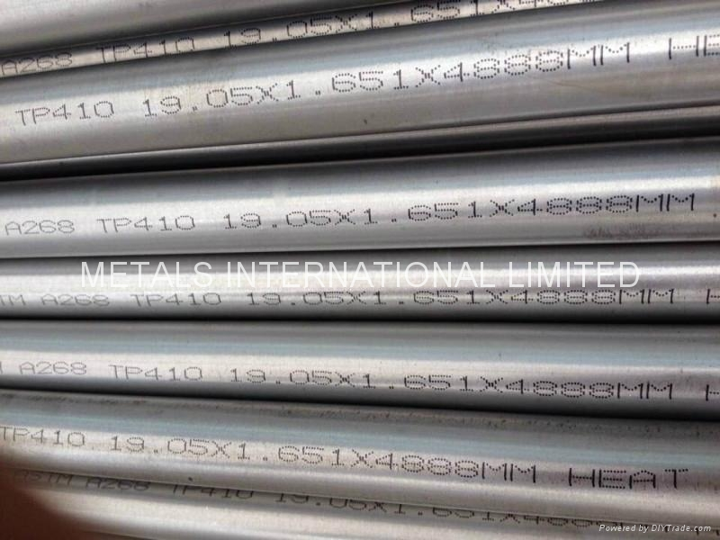 ASTM A268 TP410 Stainless Steel Tubing