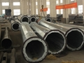 ASTM A572 GR.55 TAPERED STEEL POLES