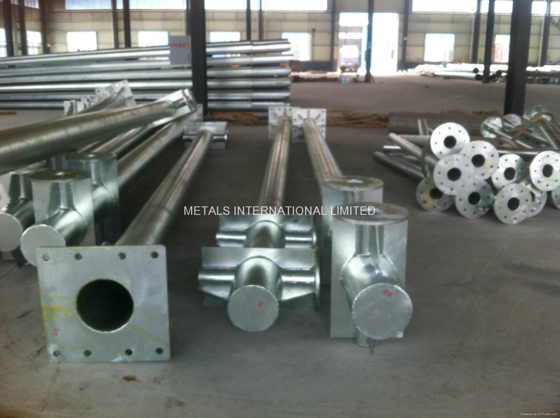 AS1163 C250 GALVANISED POWER POLES