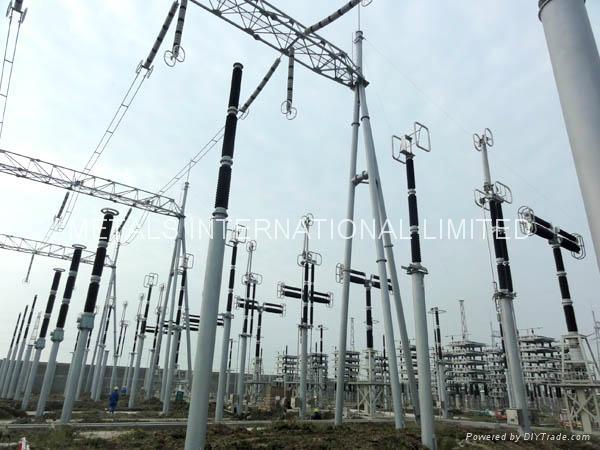 POWER STATION POLES