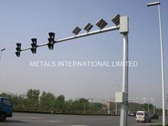 ASTM A36,ASTM A595 A,ASTM A572 65,IS 2713 Traffice Signal  Pole,Light Pole