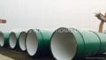 AWWA C205,KNPC 87C1,DIN 30673 Bitumen/Epoxy Zinc Rich Coated Pipe