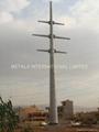 AASHTO 2002(ASTM A36,ASTM A595 A,ASTM A572 65) Tapered Pole,Power Pole