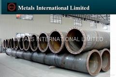 ASTM A252,ASTM A500,AWWA A200,EN10025-2,EN10219-1 Flanged Steel Pipe