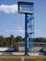 ASTM A595,DIN 4131,BS 8100 Communication Pole,Antenna Monopoles