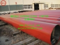 API 5L B/ASTM A53 B+Red Painting for Fire Fighting