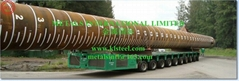 ASTM A252,AS1163 C350L0, API 5L X65,EN10208,EN10219 LSAW TUBULAR STEEL PILES (Hot Product - 1*)