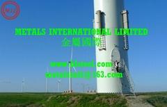 EN 10225 S355JRH/S355J2H,ASTM A252-3,AS 1163 C350L0 MONOPILE WIND TURBINE