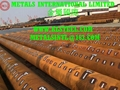 ASTM A252,AS 1163,AS 1579,AWWA C200,EN10025-2,EN10219-1 Tubular Steel Piles