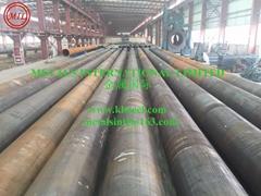 ASTM A252,AS1163 C350L0, API 5L X65,EN10208,EN10219 LSAW TUBULAR STEEL PILES