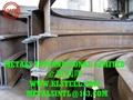 拱形桁架用冷弯弯管、拉弯型材