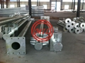 ASTM A595 A,ASTM A572 50/65 Tapered Steel Pole,Flanged Steel Pole,Steel Tower