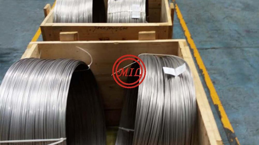 ASTM B348/ASME SB348, ASTM B863, AWS A5.16, AMS 4951 TITANIUM WIRE