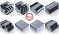 Extruded Aluminum Profile for Heat Sinks