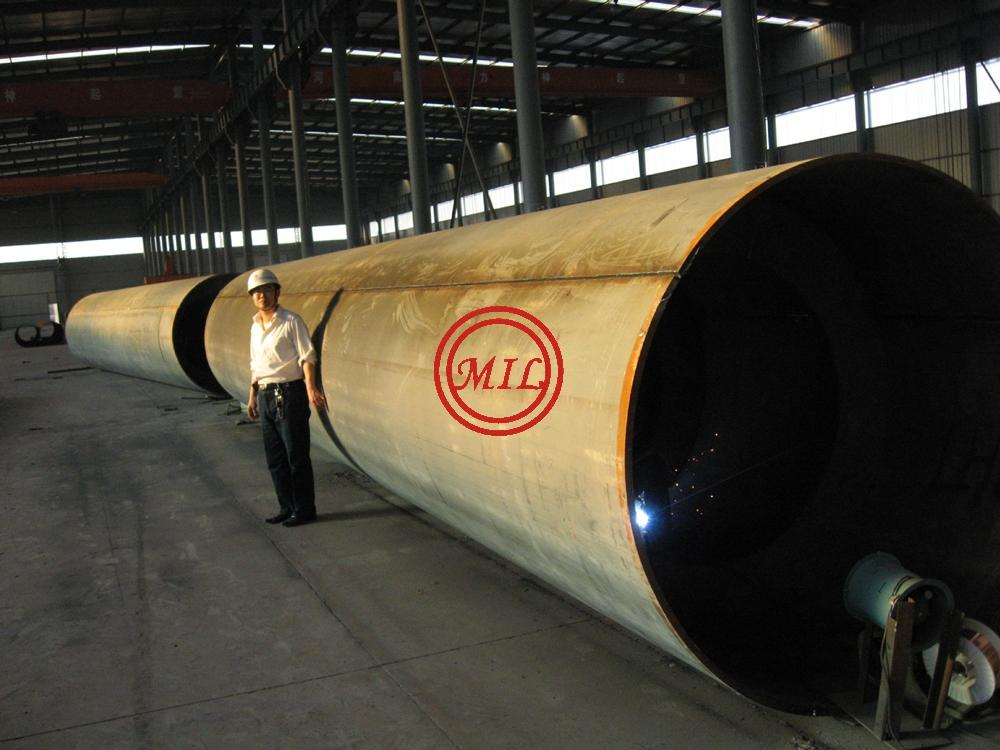 ASTM A358 SS316L EFW PIPE