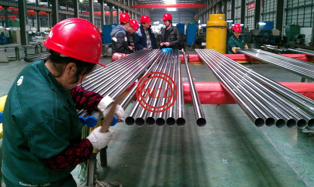 EN 10457 HYGENIEC STAINLESS STEEL TUBE