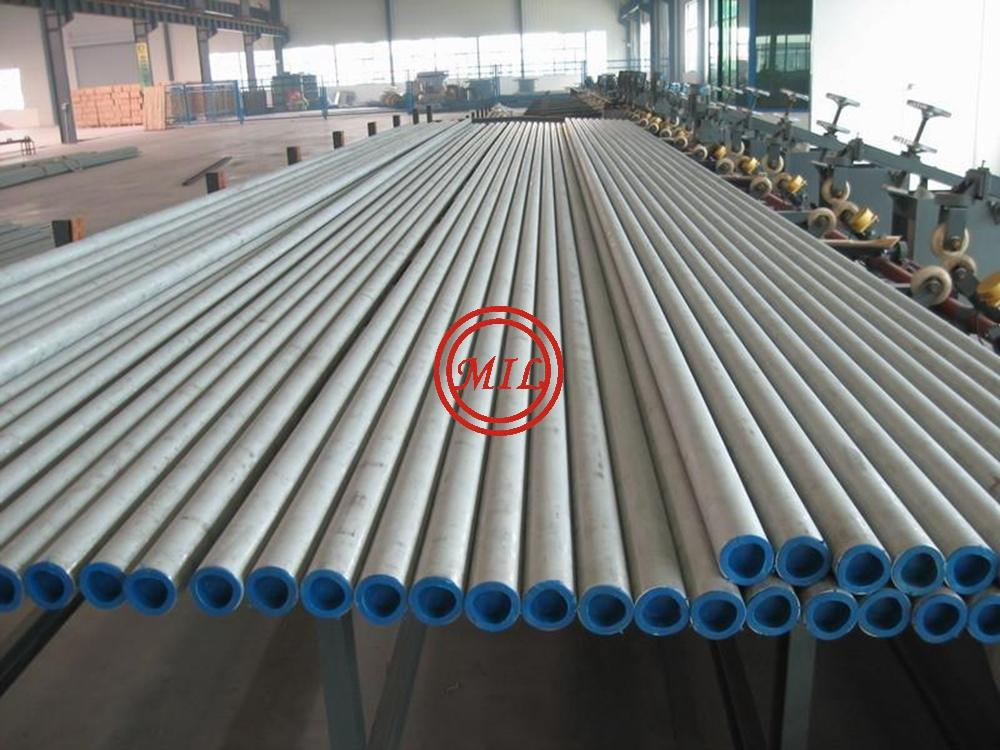 DIN 17458 1.4571 SEAMLESS STAINLESS STEEL TUBE