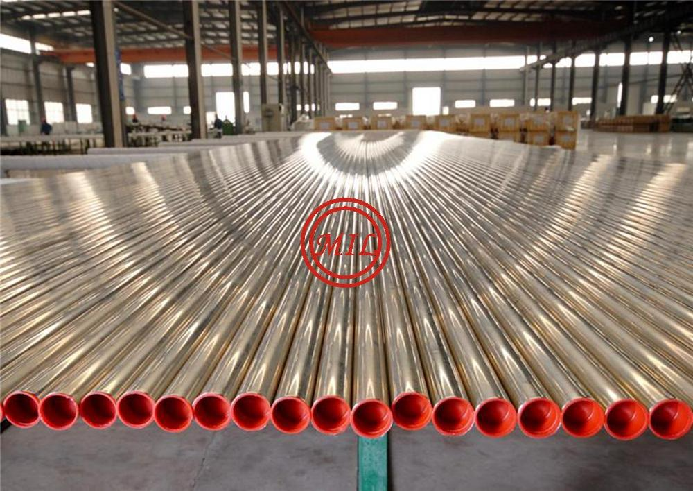 ASTM A312 TP304/TP304L STAINLESS STEEL 400 grit polished tube