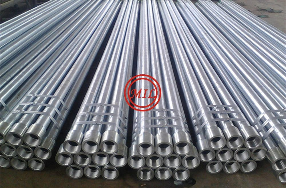 BS 1387  GA  ANISED STEEL PIPE WITH SOCKET & COUPLING