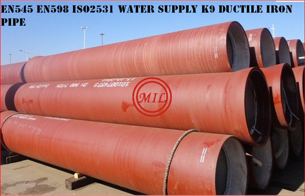 ISO 2531,EN 545,EN 598,BS 4772,AS 2280 Ductile Iron Pipe 17