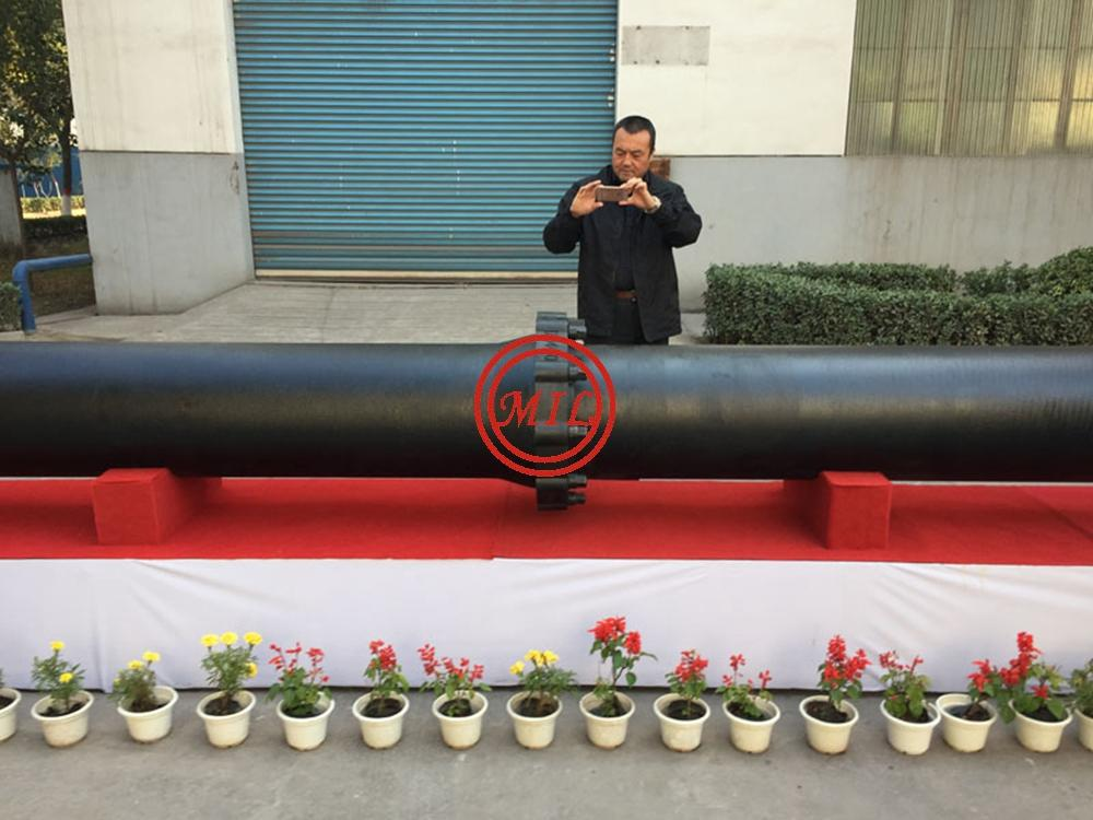 EN545,EN598,ISO 2531,AS 2280,BS 4772 K-Type(Mechanical) Joint Ductile Iron Pipes 2