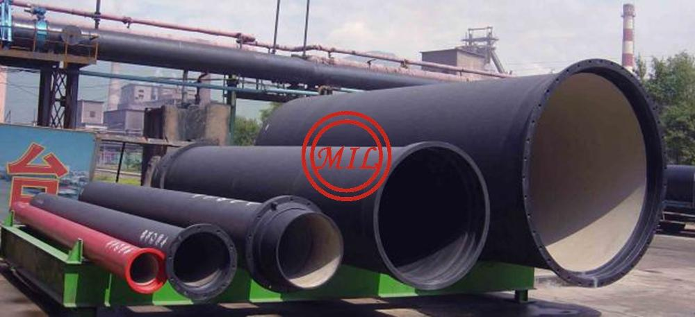 EN545,EN598,ISO 2531,AS 2280,BS 4772 K-Type(Mechanical) Joint Ductile Iron Pipes 3