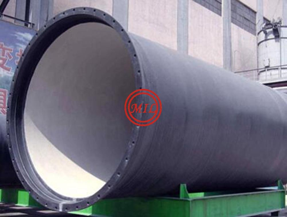 EN545,EN598,ISO 2531,AS 2280,BS 4772 K-Type(Mechanical) Joint Ductile Iron Pipes 1