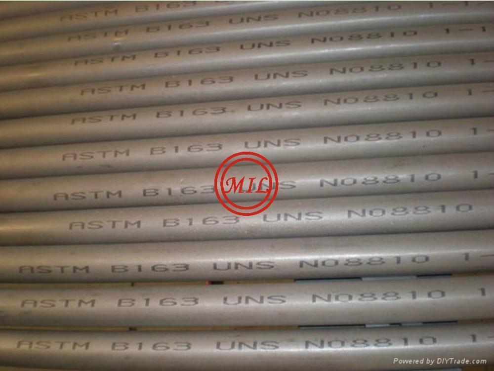 ASTM B163 UNS S08810