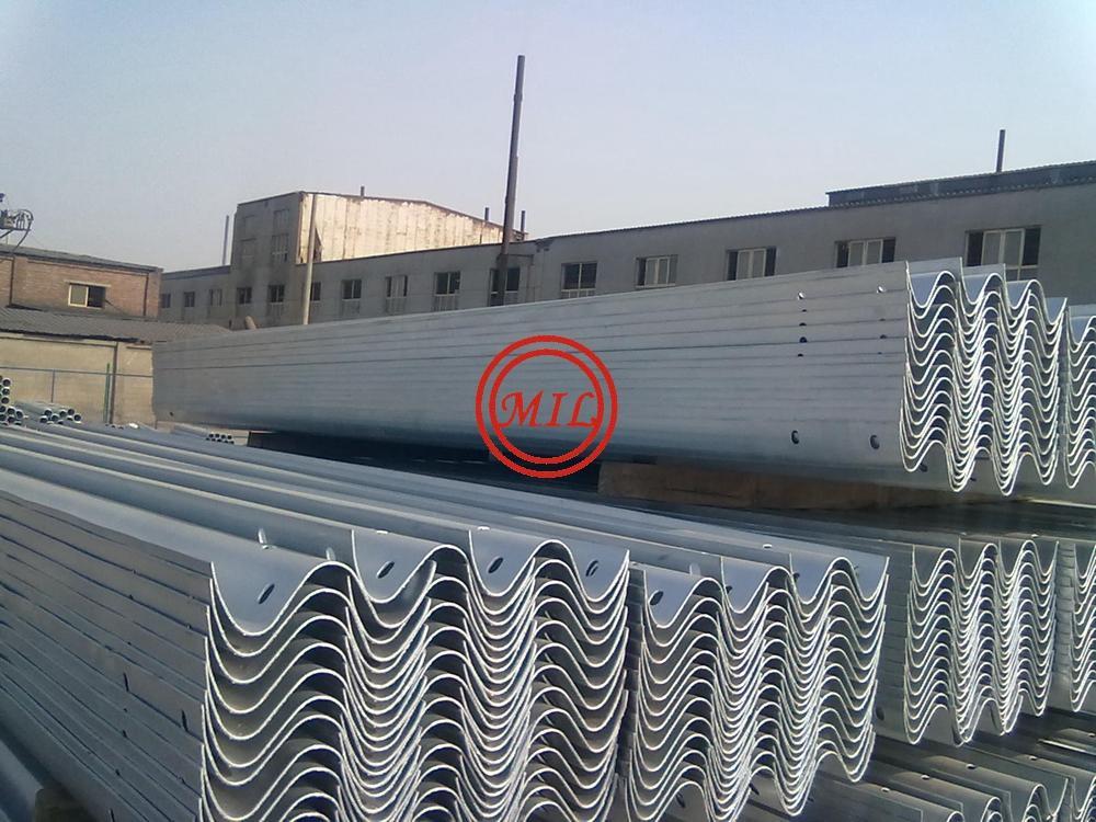 Galvanised W-Beam Highway Guardrails