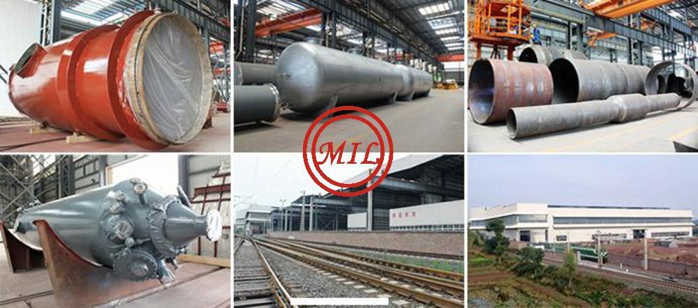 Bimetallic Clad Pressure Vessel