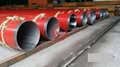 AS 1163 C350L0 STRUCTURAL PIPE+ASTM A358 S304L STAINLESS STEEL LINED PIPE+DIN 30670 EXTERNAL EPOXY COATING