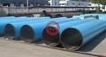 EN 10219-1 S275J0H WATER PIPE+EN 10217-7 1.4401 STAINLESS STEEL LINE PIPE+DIN 30670 EXTERNAL EPOXY COATING