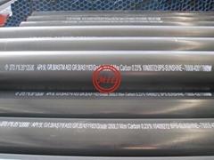AS1163,ASTM A252,ASTM A53,ASTM A501,DIN2440,EN10219,API 5L ERW Pipe